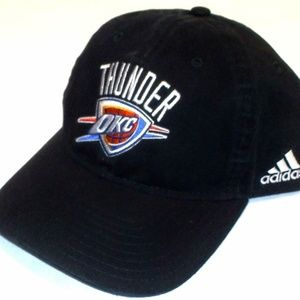 new Adidas OKC Oklahoma City Thunder Hat S/M